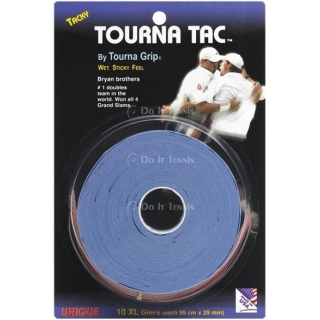Unique Tourna Tac XL 10 Pack Blue Overgrip