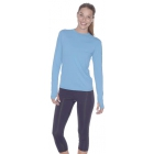 Bloq-UV 24/7 Long Sleeve Top (Teal) - Women's Tops Long-Sleeve Shirts Tennis Apparel