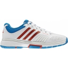 Adidas Barricade 7 Womens Shoes (Wht/ Red/ Blu) - Tennis Shoes Sale