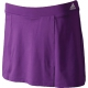 Adidas Women's Galaxy Skort (Purple) - Adidas Women's Apparel Tennis Apparel