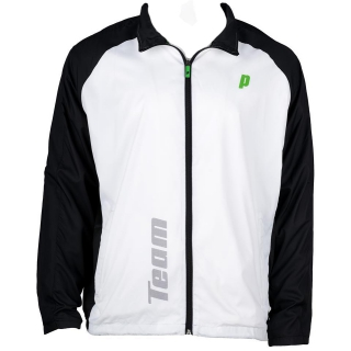 Prince Men's Warm-up Jacket (White/Black)
