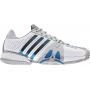Adidas Barricade 7 Mens Shoes (Wht/ Blu/ Gry)