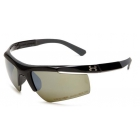 Under Armour Core 2.0 Game Day Sunglasses (Shiny Black / Charcoal Gray) - Tennis Accessory Types