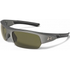 Under Armour Big Shot Game Day Sunglasses (Satin Carbon / Black) - Tennis Accessory Types