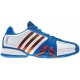 Adidas Barricade 7 Mens Shoes (Wht/ Blu/ Red) - Adidas Barricade Tennis Shoes