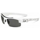 Under Armour Nitro L Multiflection Sunglasses (Shiny White / Battle Black Print) - Tennis Accessory Types