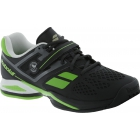 Babolat Men's Propulse BPM All Court Wimbledon Tennis Shoe (Black/ Green) - Babolat Propulse Tennis Shoes