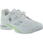 Babolat Men's Propulse BPM All Court Wimbledon Tennis Shoes (White/ Green) - Men's Tennis Shoes