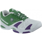 Babolat Men's SFX Wimbledon Tennis Shoes (Green/ White/ Purple) - Men's Tennis Shoes
