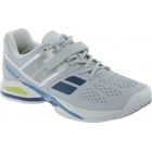Babolat Men's Propulse BPM Clay Tennis Shoes (Grey/ White/ Blue) - Men's Tennis Shoes