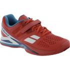 Babolat Men's Propulse BPM Clay Tennis Shoes (Red/ White/ Blue) - Men's Tennis Shoes