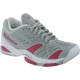 Babolat Women's SFX Tennis Shoes (Grey/ Pink) - Durable Tennis Shoes