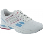 Babolat Propulse Team BPM Junior Tennis Shoes (White/ Pink) - Babolat Junior
