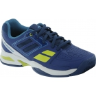 Babolat Propulse Team BPM Junior Tennis Shoe (Blue/ Green) - Babolat Tennis Shoes
