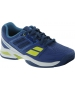 Babolat Propulse Team BPM Junior Tennis Shoe (Blue/ Green) - Babolat