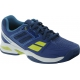 Babolat Propulse Team BPM Junior Tennis Shoe (Blue/ Green) - Tennis Shoe Guarantee
