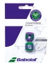 Babolat Wimbledon Custom Dampener (Green/ Purple) - Babolat Tennis Accessories