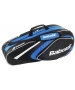 Babolat 2015 Club Line Racquet Holder x6 (Blue) - Babolat Club Tennis Bags