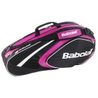 Babolat 2015 Club Line Racquet Holder x6 (Pink) - Babolat Tennis Racquets, Shoes, Bags and More #TennisRunsInOurBlood
