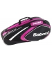 Babolat 2015 Club Line Racquet Holder x6 (Pink) - Babolat Club Tennis Bags