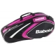 Babolat 2015 Club Line Racquet Holder x6 (Pink) - Tennis Bag Types