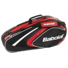 Babolat 2015 Club Line Racquet Holder x6 (Red) - Babolat Club Tennis Bags