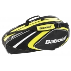 Babolat 2015 Club Line Racquet Holder x6 (Yellow) - 6 Racquet Tennis Bags