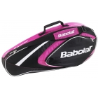 Babolat 2015 Club Line Racquet Holder x3 (Pink) - Babolat Club Tennis Bags
