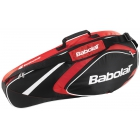 Babolat 2015 Club Line Racquet Holder x3 (Red) - Tennis Racquet Bags