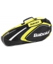 Babolat 2015 Club Line Racquet Holder x3 (Yellow) - 3 Racquet Tennis Bags