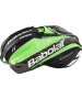 Babolat Pure Strike Wimbledon Racquet Holder x15 (Black/ Green) - New Tennis Bags