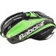 Babolat Pure Wimbledon Racquet Holder x15 (Black/ Green) - Tennis Racquet Bags