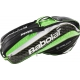 Babolat Pure Wimbledon Racquet Holder x6 (Black/ Green) - Tennis Racquet Bags