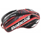 Babolat Pure Strike Racquet Holder x12 (Black/ Bright Red)  - Babolat Tennis Bags