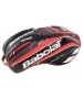 Babolat Pure Strike Racquet Holder x12 (Black/ Bright Red)  - Babolat