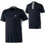 Adidas Mens Galaxy Tee (Dark Navy/ White)