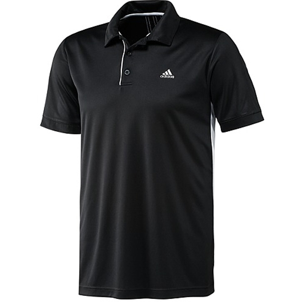 Adidas Mens Galaxy Polo (Black/ White)