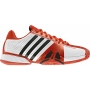 Adidas Barricade 7 Mens Tennis Shoes (Wht/ Red/ Blk)