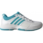 Adidas Barricade 7 Womens Tennis Shoes (Wht/ Ult Grn) - Adidas Barricade Tennis Shoes