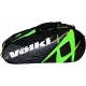 Volkl Team Combi 6-Pack Bag (Green/Black) - New Volkl Racquets and Bags