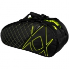 Volkl Tour Combi 6-Pack Bag (Black/Neon Yellow) - Volkl Tennis Bags and Backpacks