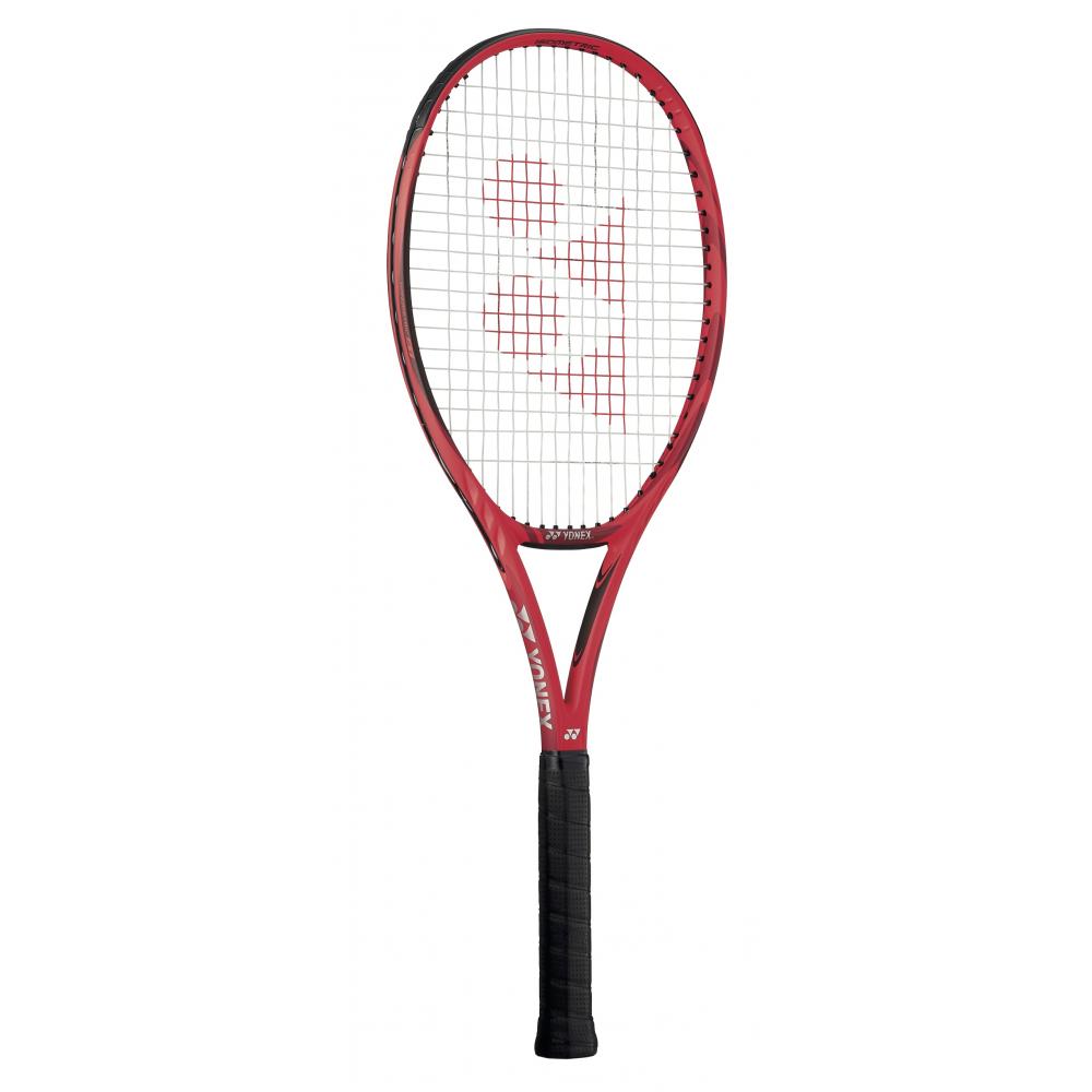 Yonex VCORE 98+ (Plus) Tennis Racquet (Flame Red)