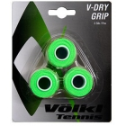 Volkl V-Dry Overgrip 3-Pack (Neon Green) - Grip Brands
