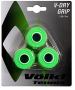 Volkl V-Dry Overgrip 3-Pack (Neon Green) - Absorbent Over Grips