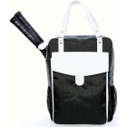 Cortiglia Brisbane Tennis Backpack (Grey & White) - Cortiglia Tennis Bags