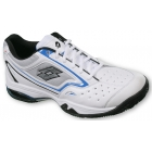 Lotto Men's Vector III Tennis Shoes (White/ Blue) - Best Sellers