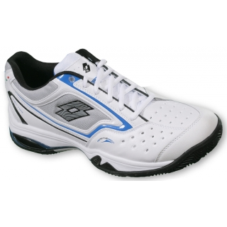 Lotto Men's Vector III Tennis Shoes (White/ Blue)