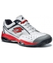 Lotto Men's Vector IV (Wht/ Red) - Lotto Tennis Shoes