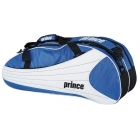 Prince Victory 6 Pack Tennis Bag (Royal/ White) - Tennis Racquet Bags