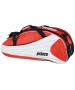 Prince Victory 6 Pack Tennis Bag (Red/ White) - 6 Racquet Tennis Bags
